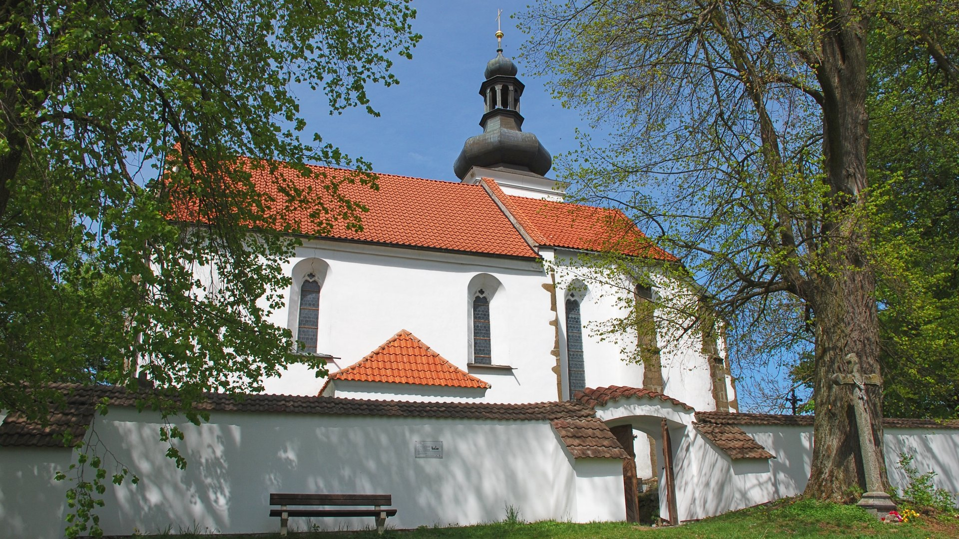 Kostel v Novém Kostelci